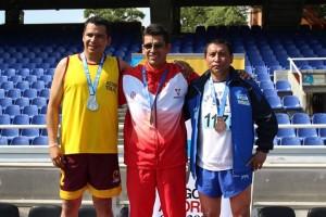Alex Gómez, oro en los 800 metros planos / Foto Secretaría de Deporte y Recreación de Cali