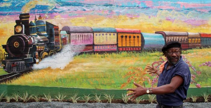 Con mucho arte se recuperó el puente de la 100 con Autopista Simón Bolívar