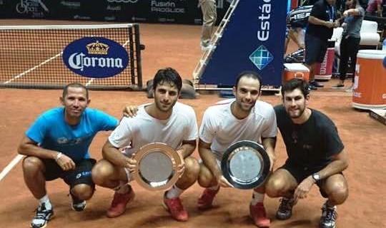 Los caleños Juan Sebastián Cabal y Robert Farah, campeones del ATP 250 de Sao Paulo