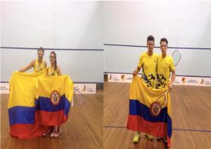 Foto Federación Colombiana de Squash