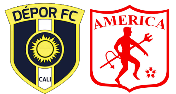 América ganó 2-1 al Depor FC en la Copa Águila
