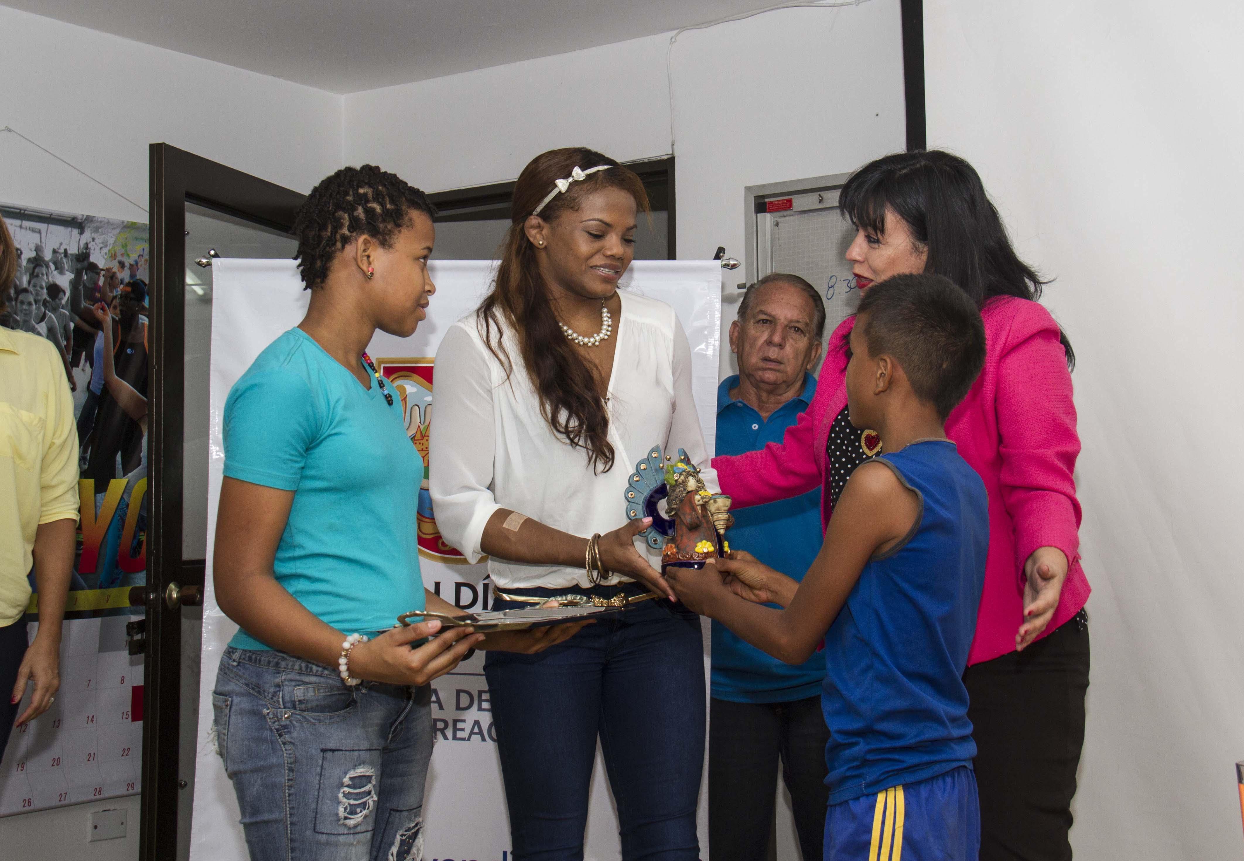 La Secretaría del Deporte rindió homenaje a Jackeline Rentería