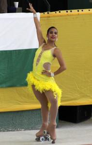 Viviana Osorio / Foto Liga Vallecaucana de Patinaje