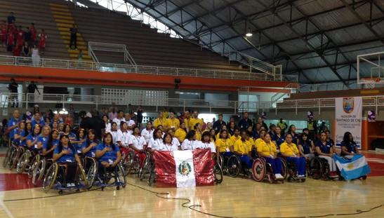 Comienza el Suramericano Femenino de Baloncesto en Silla de Ruedas