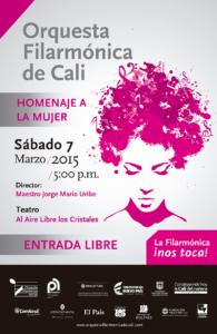 El evento será de entrada libre. / Foto Orquesta Filarmónica de Cali.