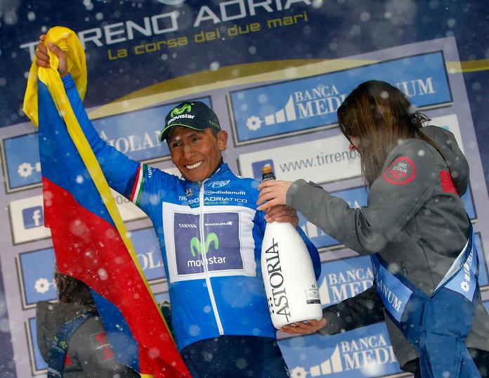 Nairo Quintana, campeón de la Tirreno Adriático