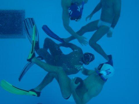 El rugby subacuático también tendrá su campeonato en Cali