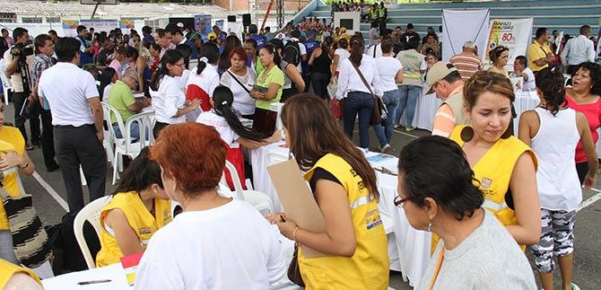 Más de 500 habitantes de la comuna 7 conocieron las inversiones en su localidad