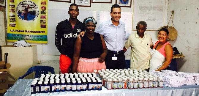 Afrocolombianos de Playa Renaciente reciben ayuda de la Asesoría de Asuntos Étnicos