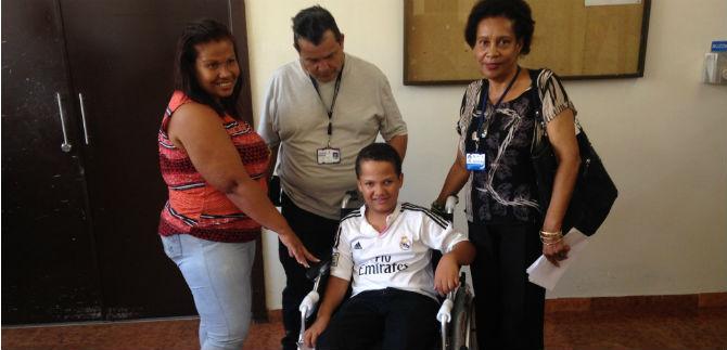 Se invierte en ayudas técnicas para personas con discapacidad