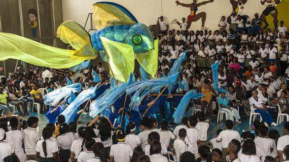 """Jornada festiva sobre la 'Cultura del Agua"""" en Institución Educativa Nuevo Latir"""