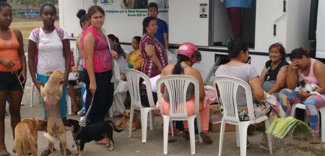 Efectúan jornada integral de entornos saludables en la comuna 15