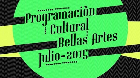 Programación cultural de julio en Bellas Artes