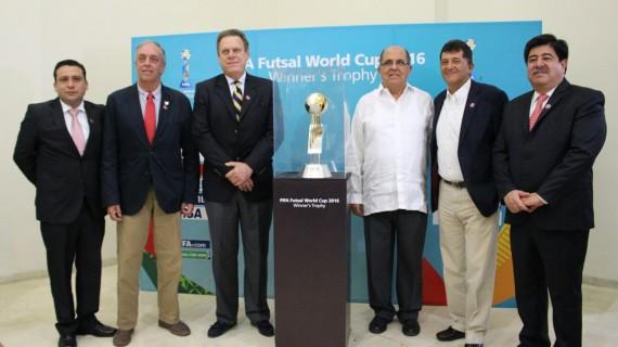 El Mundial de Futsal tuvo su presentación oficial