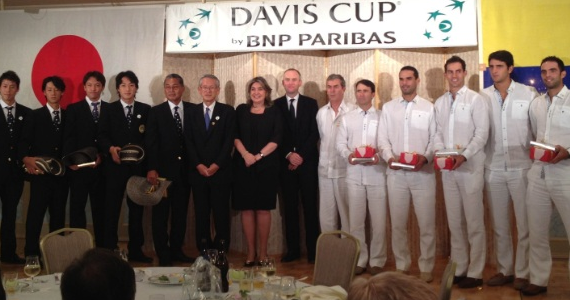 Colombia por el Grupo Mundial de Copa Davis