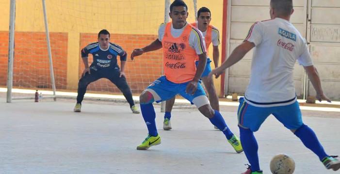 Selección Colombia de futsal debutará en el Grand Prix de Brasil