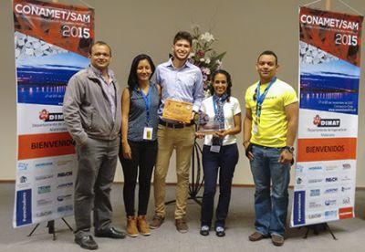 Estudiante de Univalle, premiado en concurso de arte científico