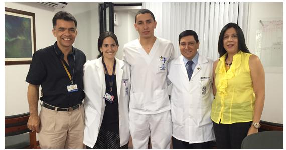 Alcalde aplaude distinción nacional a dos estudiantes de medicina caleños