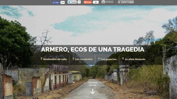 Alianza informativa entre Javeriana Cali y El Espectador para los 30 años de la catástrofe de Armero