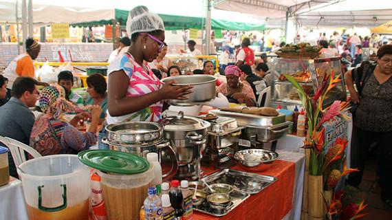 Cultura Afro tiene su espacio en la 58 Feria de Cali.