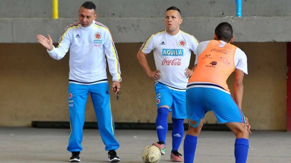 Selección Colombia de Futsal sigue en microciclo
