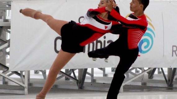 Valle buscará retener el título de campeón nacional de patinaje artístico