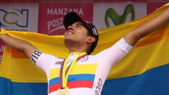 Edwin Ávila, nuevo campeón nacional de ruta