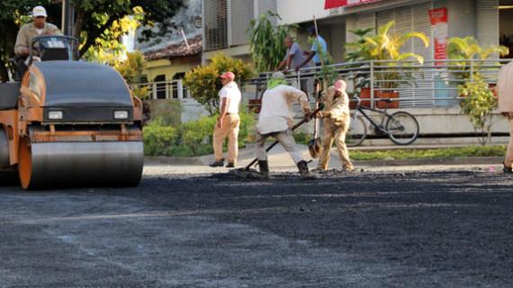 Cada comuna contará con una cuadrilla para mantenimiento vial