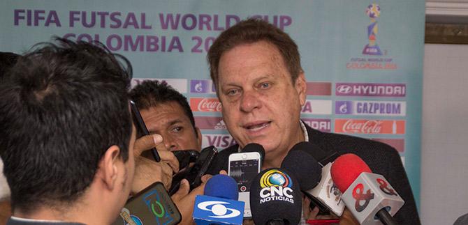 Instalan Comité organizador del Mundial Fútbol Sala 2016