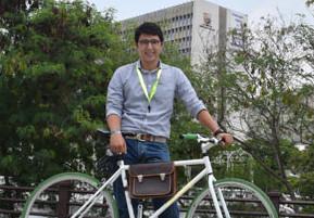Duvalier Sánchez, Asesor para la Movilidad en Bicicleta