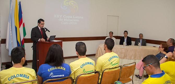 Cali será sede de la Copa Latina de Natación