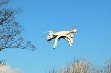 Drones para apagar incendios forestales