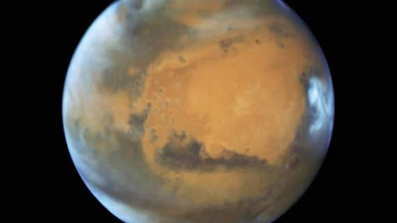 El Hubble revela nuevas fotografías de Marte