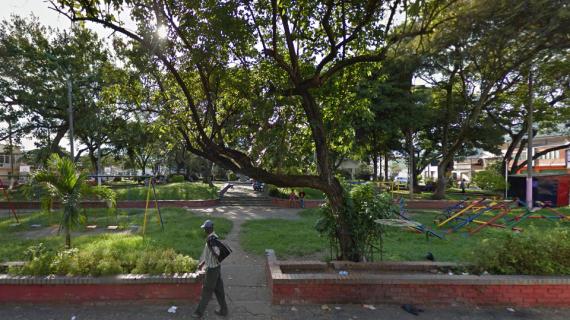 El parque del barrio Obrero tiene padrino