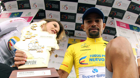 Mauricio Ortega, nuevo campeón de la Vuelta a Colombia