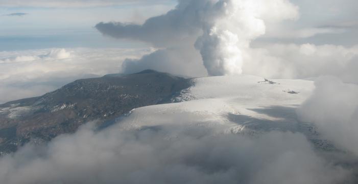 Rayos láser analizarán cenizas volcánicas en aeropuertos