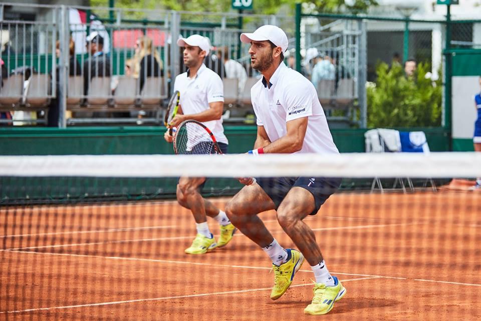 Juan Sebastián Cabal y Robert Farah / Foto Federación Colombiana de Tenis