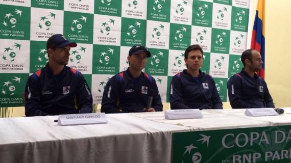 Colombia lista para buscar nuevamente el repechaje por el grupo mundial de Copa Davis