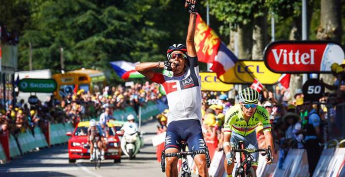 Jarlison Pantano ganó la etapa 15 del Tour de Francia