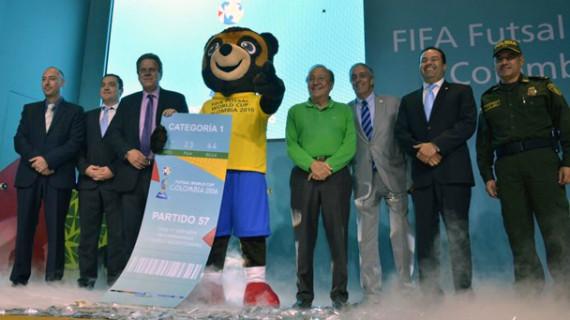Cuenta regresiva para el Mundial de Futsal Colombia 2016
