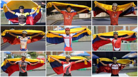 Vallecaucanos 'sobre ruedas' en Selección Colombia