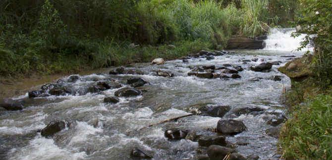 Nueva jornada de limpieza del río Meléndez