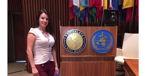Estudiante Javeriana realiza pasantía en el centro de operaciones de emergencia de la OPS en Washington