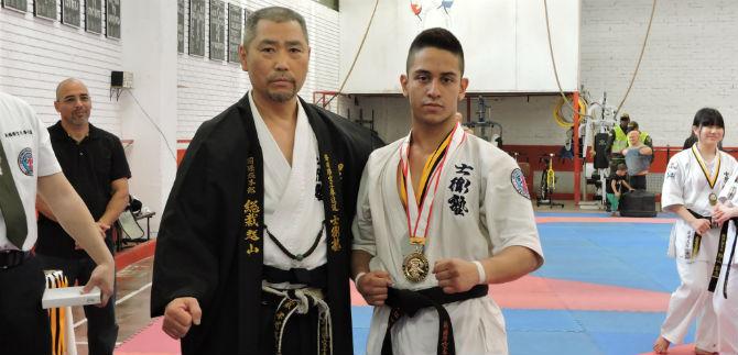 Karateca caleño