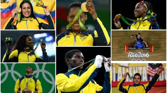 Colombia, una actuación histórica en Río 2016