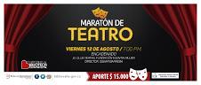 Maratón de teatro
