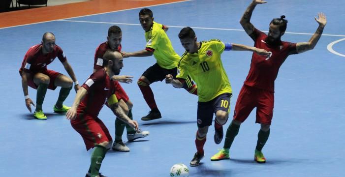 Colombia debutó con empate en el Mundial de Futsal