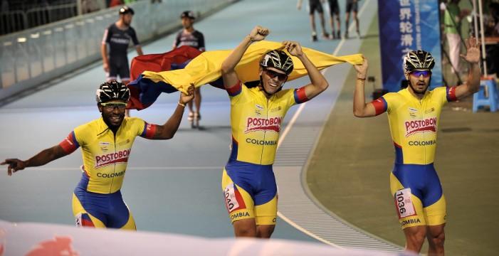 Colombia campeón de la pista en el Mundial de Patinaje