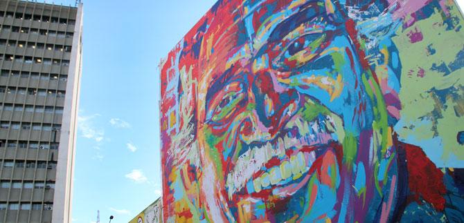 Se inicia la 3ª Bienal de Muralismo Internacional y Arte Público