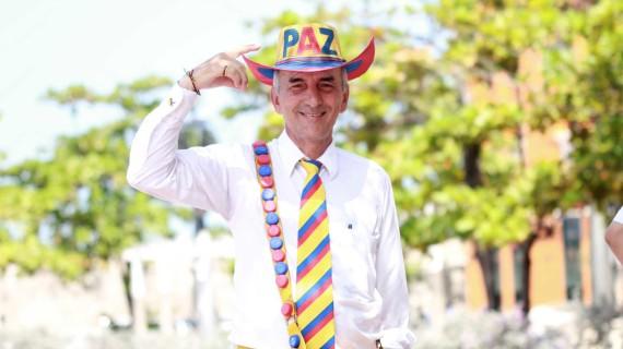 Un hombre llamado Paz Colombia Duque Giraldo